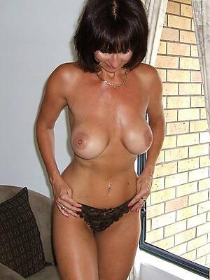beautiful busty brunette mature free photos