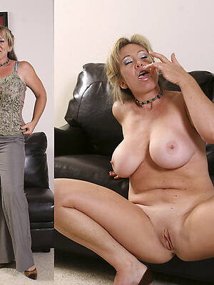 hot sexy milf women dressed & undressed