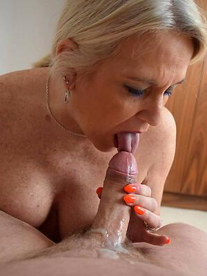 naughty german mature handjob