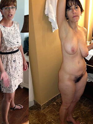 girls dressed and undressed displaying her pussy