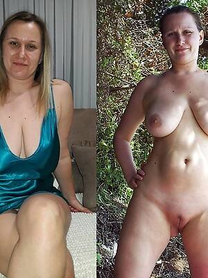 mature girls dressed and undressed porn