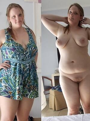 petite older women dressed undressed pic