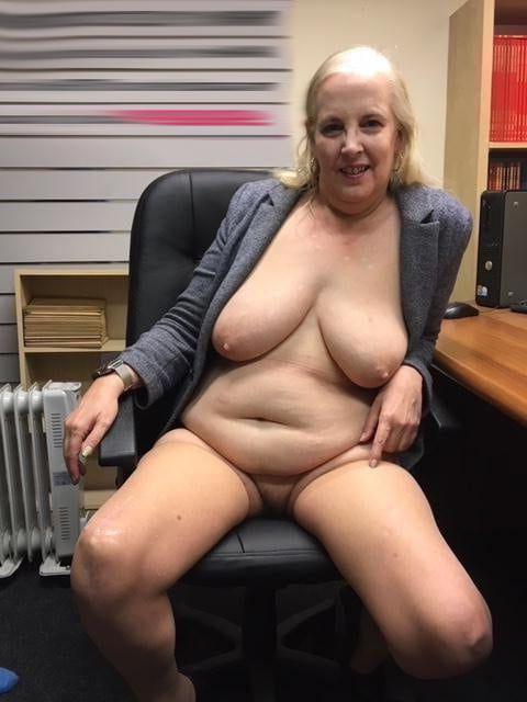 Busty granny nude